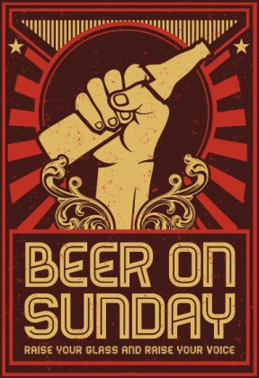 Sunday Growler Sales